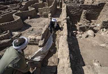 Ciudad perdida en Egipto /Foto: AFP