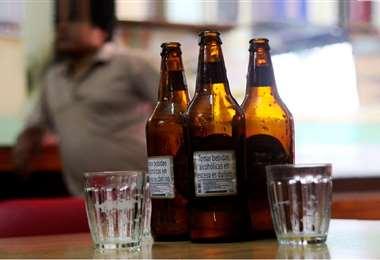 Durante y después de la elección se prohíbe ventas y consumo de alcohol. Foto referencial