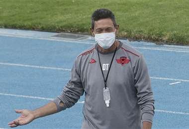 Mauricio Soria vive momentos difíciles en Wilstermann. Foto: APG Noticias