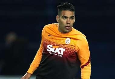 Radamel Falcao lleva ocho goles marcados con el Galatasaray. Foto: Internet