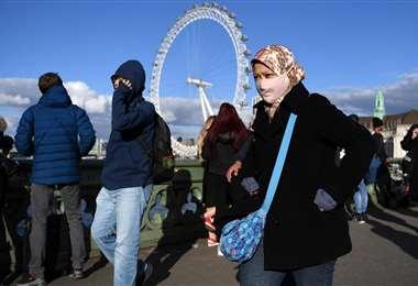 Londres registra un número cotidiano muy bajo de decesos