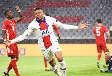 Mabppé fue la figura en el anterior partido y es carta de gol en el PSG. Foto: Internet