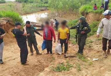 Policía detuvo a dos responsables por la quema de un indígena en Catumare. Foto: Internet