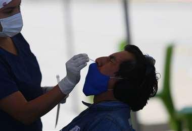 Prueba de antígeno nasal