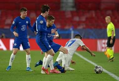 El triunfo que logró el Chelsea de visitante fue vital para la clasificación. Foto. AFP