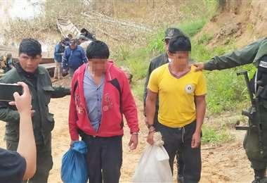 Los involucrados permanecerán en la celda de la carceleta de San Borja