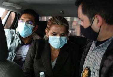 El 13 de marzo Jeanine Áñez fue aprehendida en las primeras horas del día