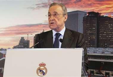 Florentino Pérez es empresario y tiene 74 años. Foto: Internet