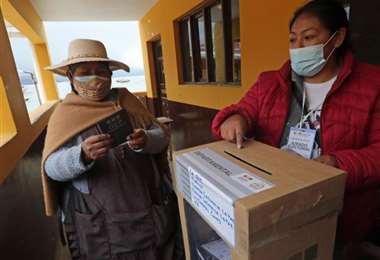Los TED esperan completar esta jornada el cómputo de votos. Foto: INTERNET