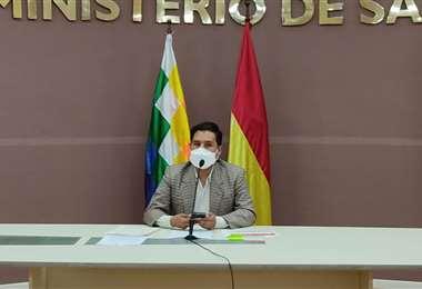 Ministerio de Salud de Bolivia, Jeyson Auza.