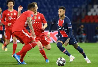 Neymar jugó un buen partido y generó oportunidades de gol para su equipo. Foto: AFP