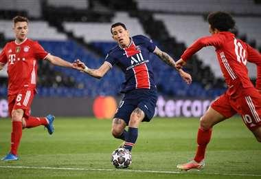 El PSG dejó en el camino al defensor del título. Foto: AFP