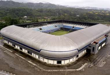 La construcción de infraestructura deportiva es una constante del UPRE (Foto: Internet)
