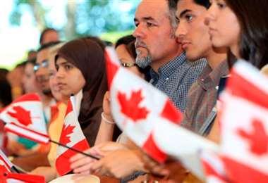 La política de Canadá es la de acoger a más personas en 2021