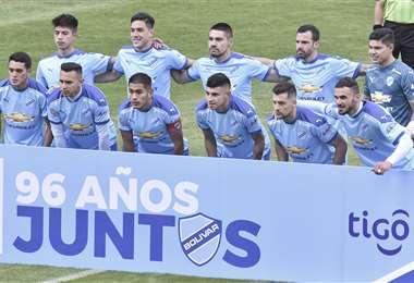 Bolívar llega motivado tras ganar en el torneo local. Foto: APG
