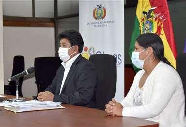 Choque fue jefa de RRHH y directora general en Aasana Cochabamba