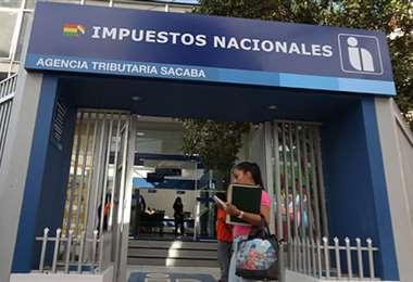 Servicio de Impuestos Nacionales. Foto. Internet