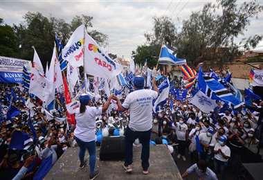 Álvaro Ruíz fue el candidato del MAS en Tarija. Foto. El Deber