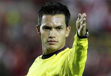 Nicolás Gallo arbitrará el partido entre Always Ready e Internacional. Foto: Internet