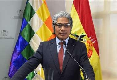 Wilfredo Chávez, procurador general del Estado. Foto. ABI