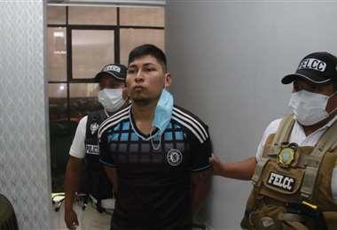 Alberto Rueda Salgueiro fue recapturado. Foto. Juan Carlos Torrejón