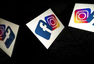 Principales redes sociales dejaron de funcionar por horas. Foto AFP