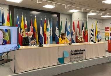 Reunión preparatoria de Cumbre Iberoamericana/Foto: ABI