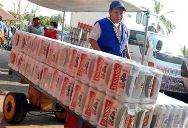 La informalidad, según la Cainco, se nutre del contrabando (Foto: Juan Carlos Torrejón)