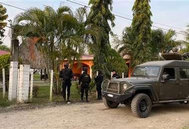 """El momento de la aprehensión del """"Diablo"""", requerido por EEUU. Foto: Guatevisión"""