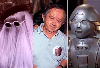 """Silla interpretó al Tío Cosa y al robot Twiki  en """"Buck Rogers"""""""