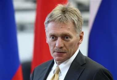 El portavoz del Kremlin Dmitry Peskov