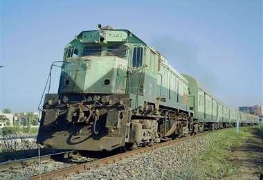 El tren se dirigía a la ciudad de El Mansura /Foto Archivo