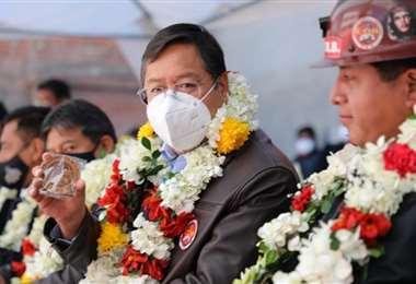 Al jefe de Estado se le critica sus declaraciones del 7 de abril
