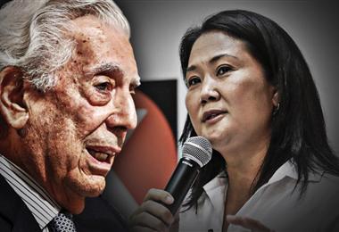 Vargas Llosa apoyó a  Keiko Fujimori para la segunda vuelta en Perú