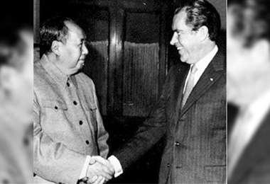 El ping pong consiguió que Mao Tse Tung y Richard Nixon se reunieran en Pekín