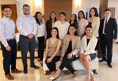 Estudiantes de Derecho de la UPSA/Foto: UPSA