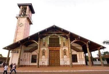 Foto archivo El Deber: Iglesia de San Ignacio de Velasco