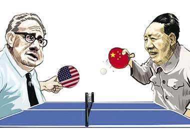 Kissinger fue uno de los ideólogos de la singular iniciativa para reanudar las relaciones