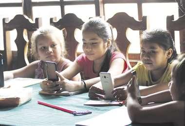 Niños pasando clases /Jorge Gutiérrez
