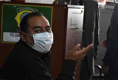Wilson Santamaría, exviceministro de Seguridad Ciudadana. Foto. APG