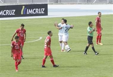 Guabirá sufrió su primera derrota oficial del año. Foto: APG Noticias