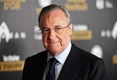 Florentino Pérez, presidente de Real Madrid y la naciente SuperLiga. Foto: AFP