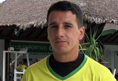 Víctor Hugo Dorrego tiene 27 años y juega de mediocampista. Foto: Captura de pantalla