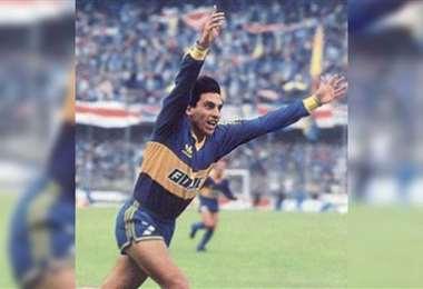 Alfredo Graciani fue goleador de Boca en la década de los ochenta. Foto: internet