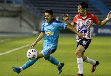 Bolívar viene de ser eliminado de la Libertadores por Junior de Colombia. Foto: APG Notici