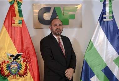 La nueva autoridad de CAF en Bolivia es economista
