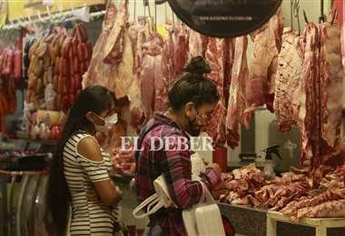 Carniceros advierten abusos en el ajuste del del kilo gancho /Foto; Juan Carlos Torrejón