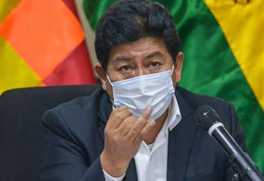 Edgar Montaño, ministro de Obras Públicas