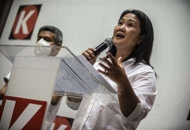 La candidata Keiko Fujimori /AFP