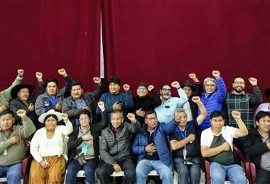 Congreso del MAS. Foto: Redes Sociales